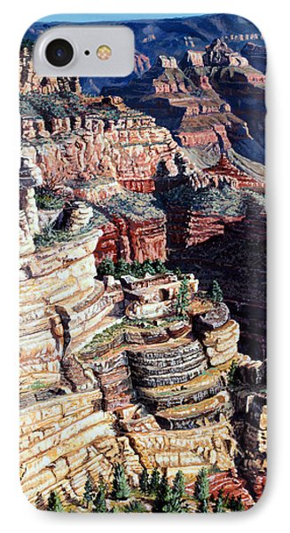 Early Morning From The South Rim IPhone Case by Timithy L Gordon