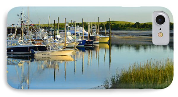 Early Morning Harbor Side IPhone Case
