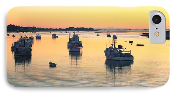 IPhone Case featuring the photograph Early Morning In Chatham Harbor by Roupen  Baker