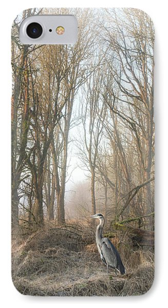 IPhone Case featuring the photograph Early Morning In The Backwoods by Angie Vogel