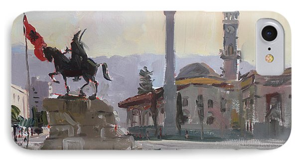 Early Morning In Tirana IPhone Case by Ylli Haruni