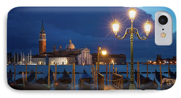 IPhone Case featuring the photograph Early Morning In Venice by Brian Jannsen