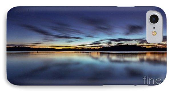 Early Morning On Lake Lanier Phone Case by Bernd Laeschke