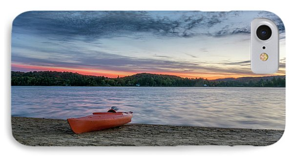 Early Morning On Oxtongue Lake IPhone Case by Irwin Seidman