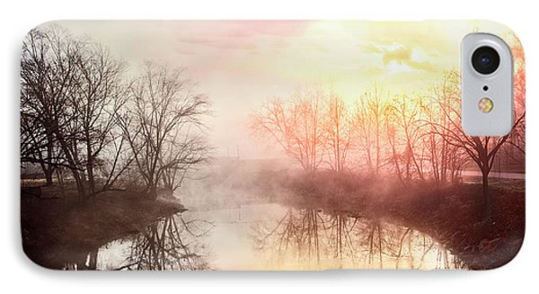 IPhone Case featuring the photograph Early Morning On The River by Debra and Dave Vanderlaan