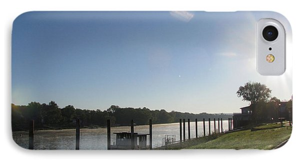 IPhone Case featuring the photograph Early Morning On The Savannah River by Donna Brown
