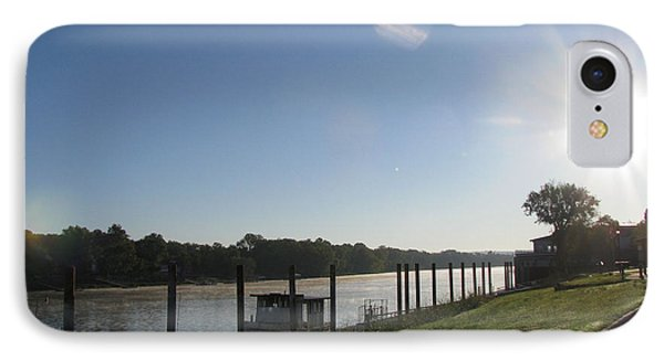 Early Morning On The Savannah River IPhone Case by Donna Brown