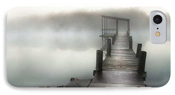 Yesterday's Early Morning Pier IPhone Case by Tamyra Ayles