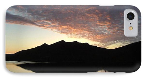 IPhone Case featuring the photograph Early Morning Red Sky by Barbara Griffin