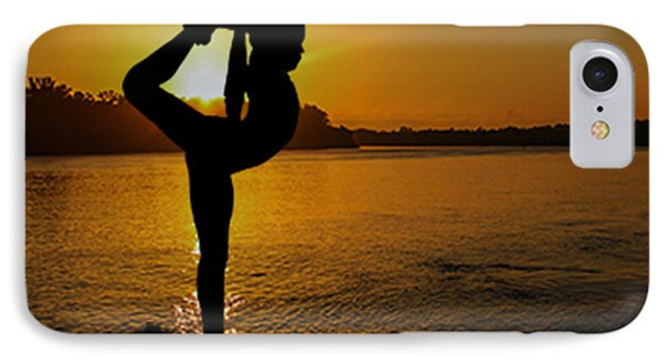 Early Morning Exercise IPhone Case by Robert Hebert