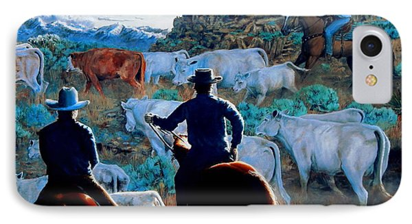 Early Morning Roundup IPhone Case