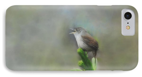 IPhone Case featuring the photograph Early Morning Songbird by Brenda Bostic