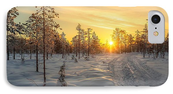 Early Morning Sun IPhone Case by Rose-Maries Pictures