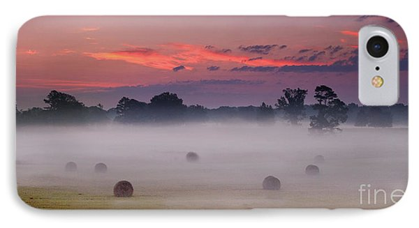 Early Morning Sunrise On The Natchez Trace Parkway In Mississippi IPhone Case