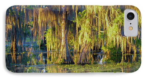Early Morning Swampscape IPhone Case by Kimo Fernandez