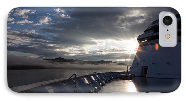 Early Morning Travel To Alaska IPhone Case by Yvette Van Teeffelen