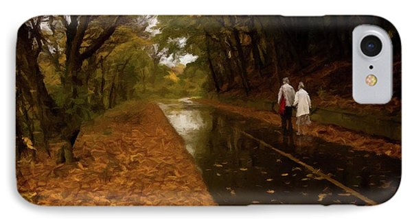 IPhone Case featuring the photograph Early Morning Walk by David Dehner