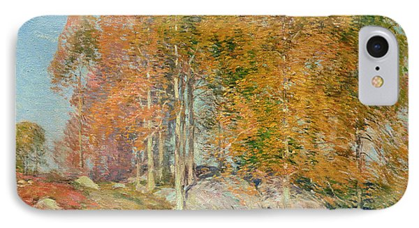 Early October Phone Case by Willard Leroy Metcalf