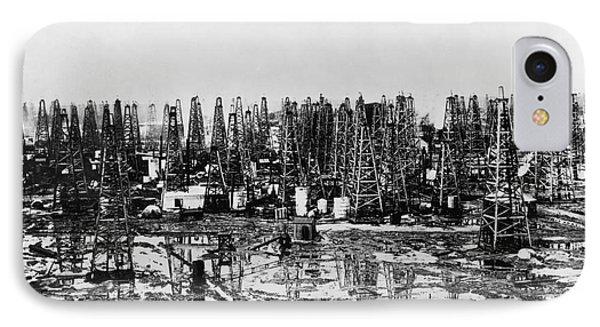 Early Oil Field Phone Case by Granger