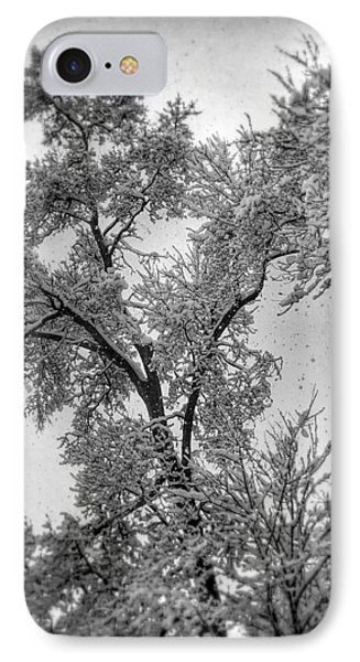 IPhone Case featuring the photograph Early Snow by Steven Huszar