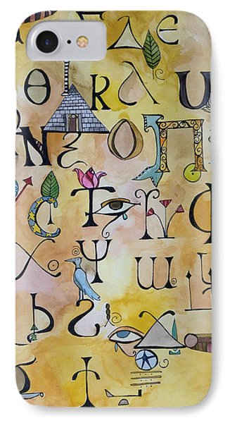 Early Song Of Words IPhone Case by Claudia Cole Meek