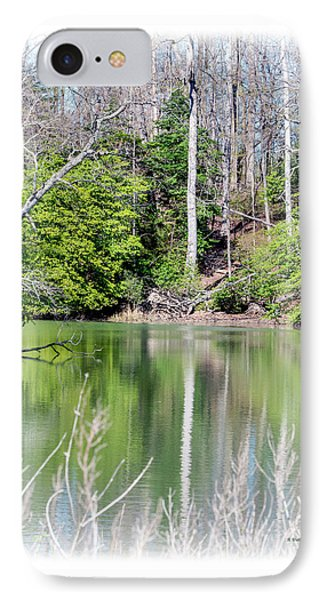 Early Spring Reflections IPhone Case by Brian Wallace
