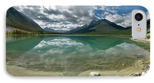 IPhone Case featuring the photograph Early Summer Day On Goat Pond by Sebastien Coursol