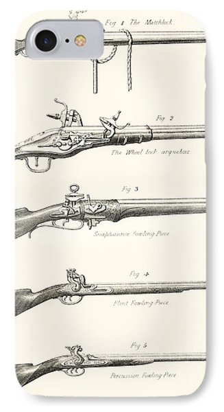 Early Types Of Firearms. 1. The IPhone Case