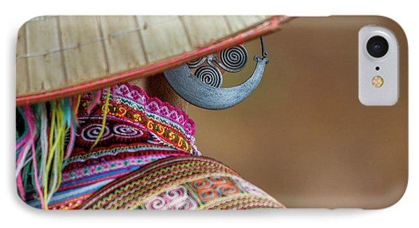Earring IPhone Case by Hitendra SINKAR