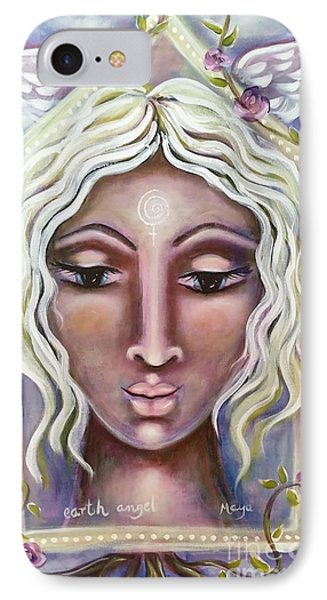 Earth Angel IPhone Case by Maya Telford