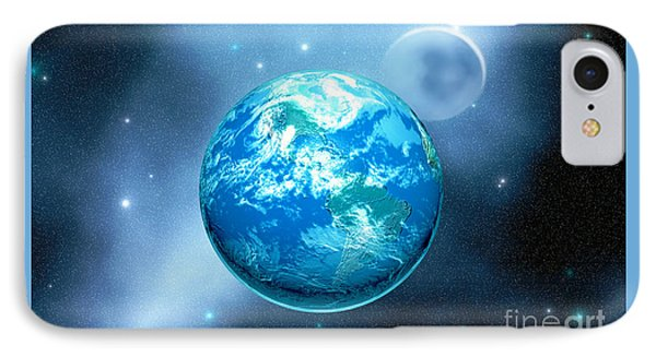 Earth Phone Case by Corey Ford