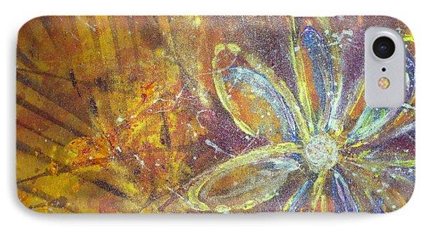 Earth Flower IPhone Case by Tracy Bonin