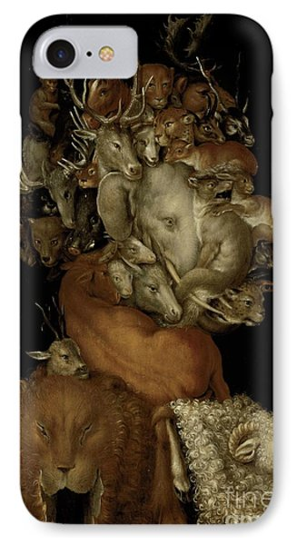 Earth IPhone Case by Giuseppe Arcimboldo