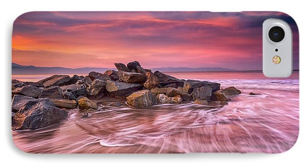 IPhone Case featuring the photograph Earth, Water And Sky by Edward Kreis