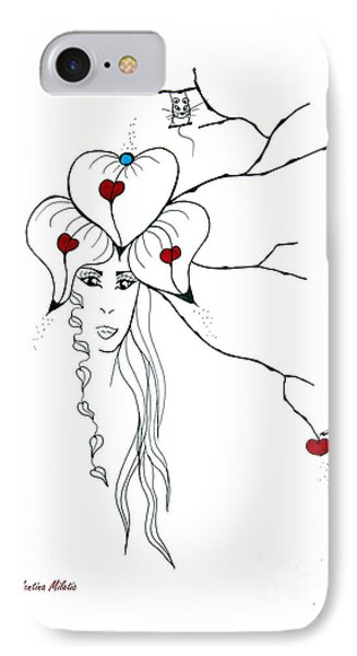 Earth Woman 10 IPhone Case