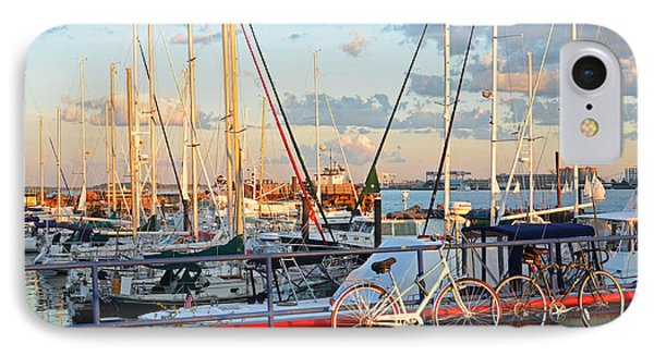 East Boston Boats Boston Ma Piers Point Park IPhone Case
