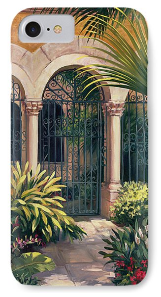 East Gate IPhone Case by Laurie Hein