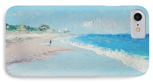 East Hampton Beach IPhone Case by Jan Matson