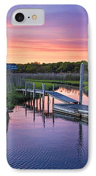 East Moriches Sunset IPhone Case