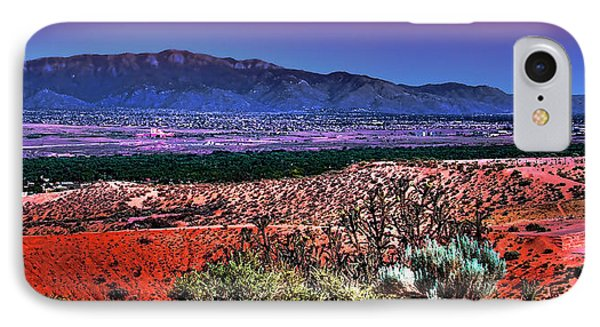 East Of Albuquerque Phone Case by David Patterson