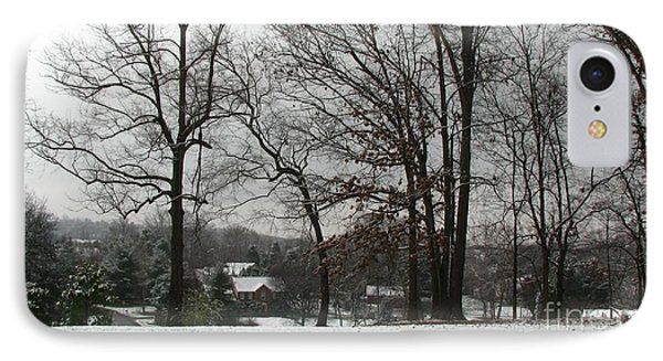 East Tennessee Winter Phone Case by Todd A Blanchard