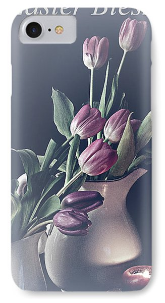 Easter Blessings No. 3 IPhone Case by Sherry Hallemeier