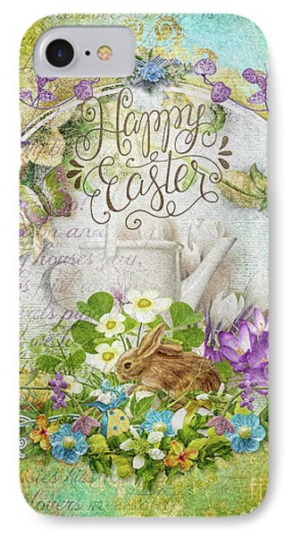 IPhone Case featuring the mixed media Easter Breakfast by Mo T