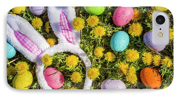 IPhone Case featuring the photograph Easter Bunny Ears by Teri Virbickis