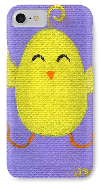 IPhone Case featuring the painting Easter Chicky by Jamie Frier