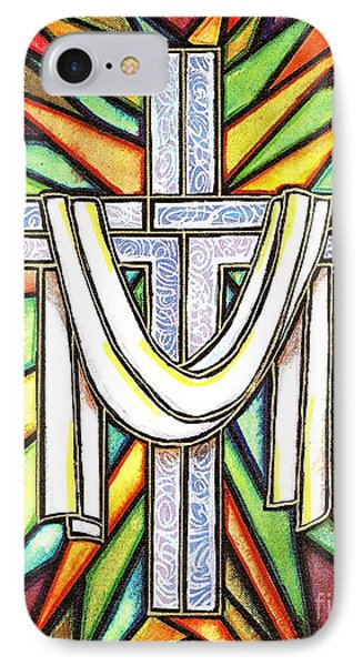 Easter Cross 5 IPhone Case by Jim Harris
