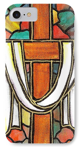 Easter Cross 6 IPhone Case by Jim Harris