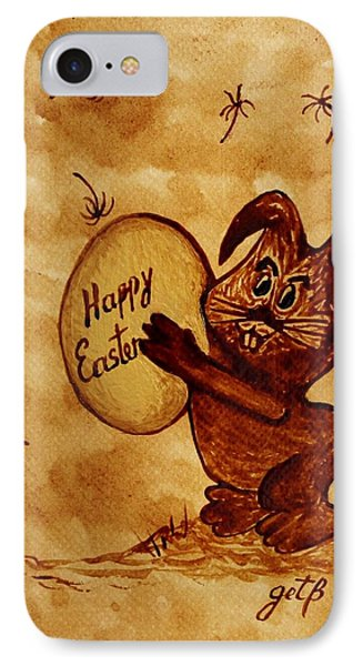 Easter Golden Egg For You Phone Case by Georgeta  Blanaru