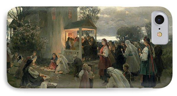 Easter Matins Phone Case by Nikolai Pimonenko