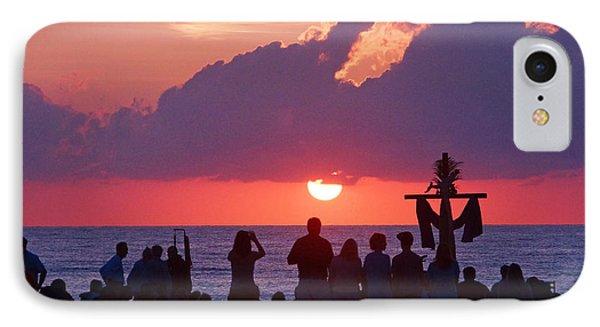 Easter Sunrise Beach Service IPhone Case